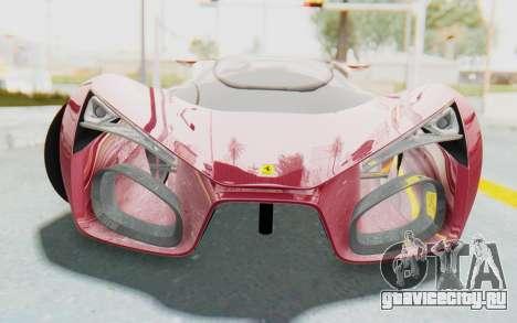 Ferrari F80 Concept для GTA San Andreas вид сзади