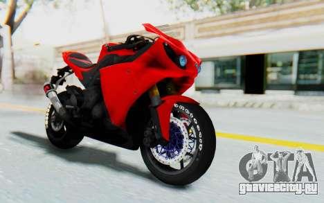 Yamaha YZF-R1 для GTA San Andreas
