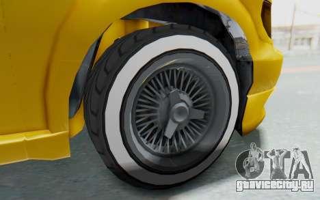 GTA 5 Vapid Minivan Custom IVF для GTA San Andreas вид сзади