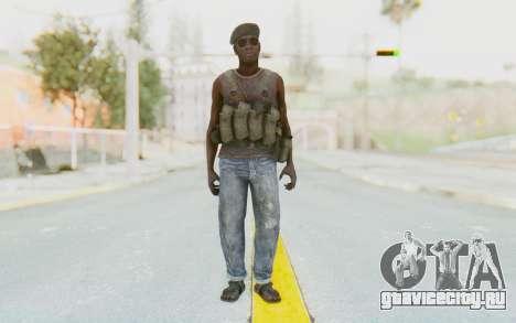 CoD MW3 Africa Militia v1 для GTA San Andreas второй скриншот