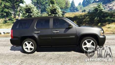 Chevrolet Tahoe для GTA 5 вид слева
