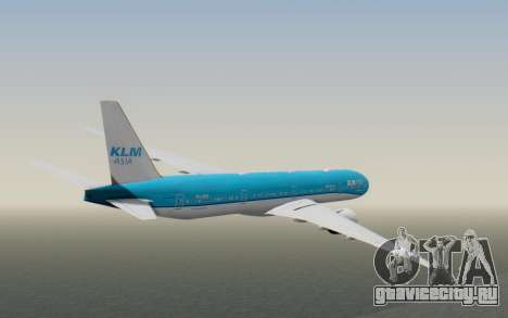 Boeing 777-300ER KLM - Royal Dutch Airlines v2 для GTA San Andreas вид справа