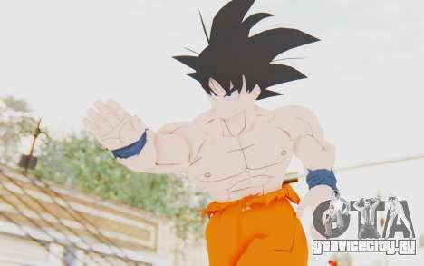 Dragon Ball Xenoverse Goku Shirtless SJ для GTA San Andreas
