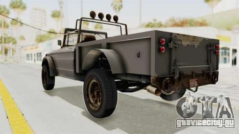GTA 5 Canis Bodhi Trevor для GTA San Andreas вид слева