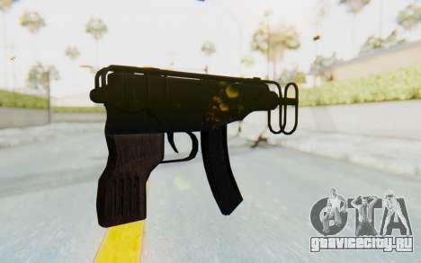 VZ-61 Skorpion Fold Stock для GTA San Andreas второй скриншот