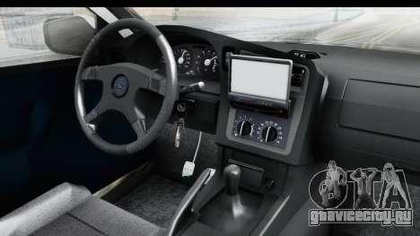 Opel Astra G Variant Polizei Hessen для GTA San Andreas вид изнутри