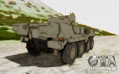 MGSV Phantom Pain STOUT IFV APC Tank v2 для GTA San Andreas вид слева
