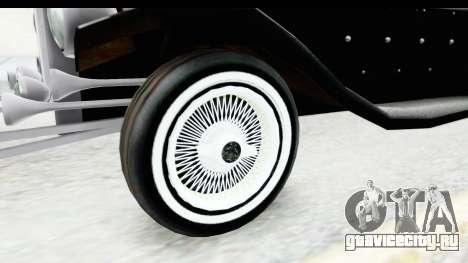 Unique V16 Phaeton VIP для GTA San Andreas вид сзади