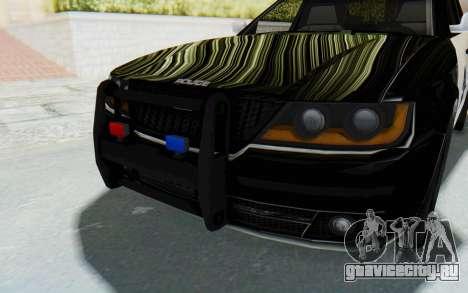ASYM Desanne XT Pursuit v2 для GTA San Andreas вид сбоку