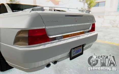 GTA 5 Imponte DF8-90 для GTA San Andreas вид изнутри