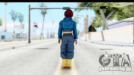 Dragon Ball Xenoverse Future Trunks SSG для GTA San Andreas третий скриншот