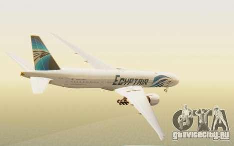 Boeing 777-300ER EgyptAir для GTA San Andreas вид слева