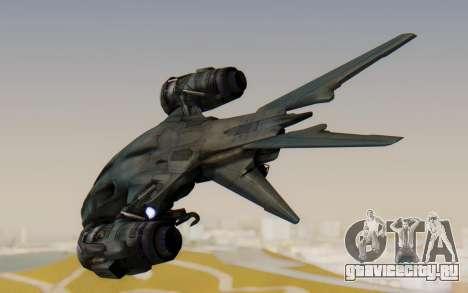 HK Aerial from Terminator Salvation для GTA San Andreas вид справа