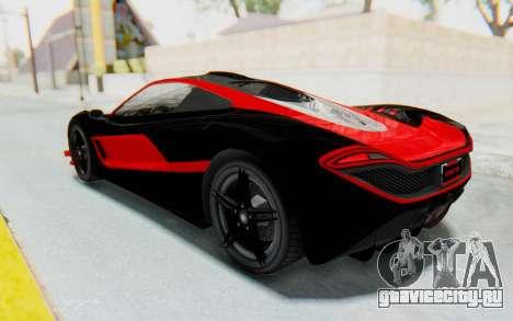 GTA 5 Progen T20 Devil PJ для GTA San Andreas вид сверху