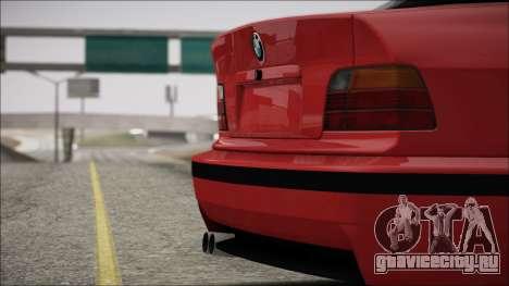 BMW E36 Stance для GTA San Andreas вид сбоку