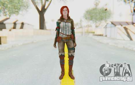 The Witcher 3 - Triss Merigold WildHunt Outfit для GTA San Andreas второй скриншот