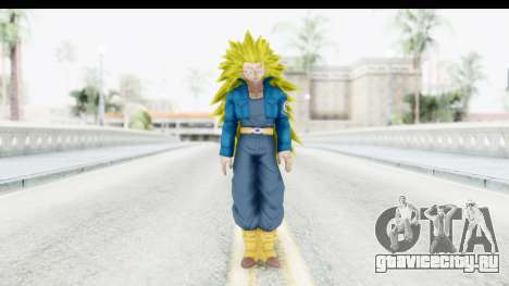 Dragon Ball Xenoverse Future Trunks SSJ3 для GTA San Andreas второй скриншот