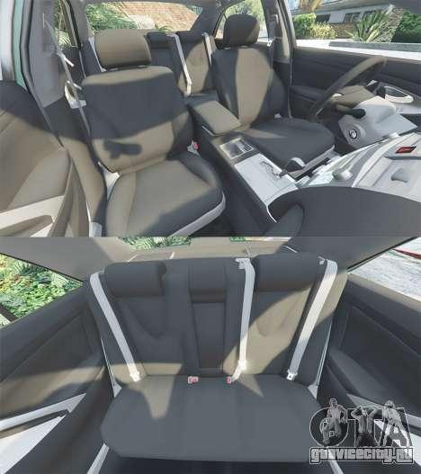 Toyota Camry V40 2008 [tuning] для GTA 5 руль и приборная панель