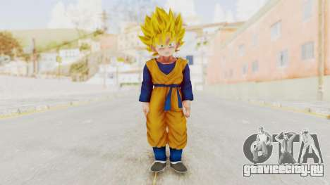 Dragon Ball Xenoverse Goten SSJ для GTA San Andreas второй скриншот