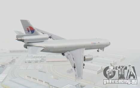 DC-10-30F MASkargo для GTA San Andreas вид слева