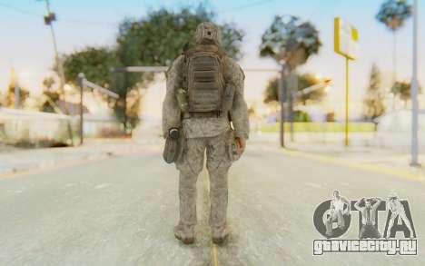 CoD MW2 Ghost Model v4 для GTA San Andreas третий скриншот