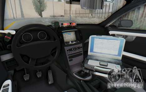 Ford Taurus Indonesian Traffic Police для GTA San Andreas вид изнутри