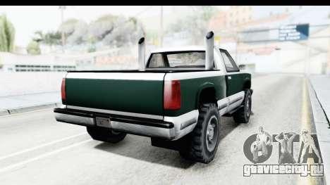 Yosemite Truck для GTA San Andreas вид справа