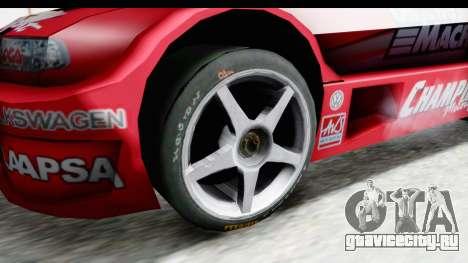Volkswagen Polo TC2000 Temporada 2005(06) для GTA San Andreas вид сзади