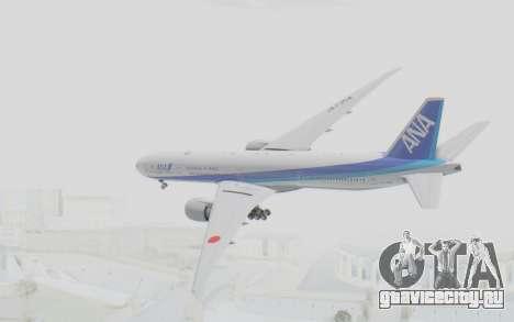 Boeing 777-300ER ANA JA735A для GTA San Andreas вид справа