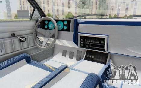 GTA 5 Willard Faction Custom Donk v2 для GTA San Andreas вид изнутри