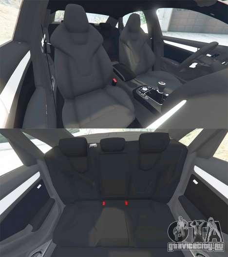 Audi A4 2009 для GTA 5 руль и приборная панель