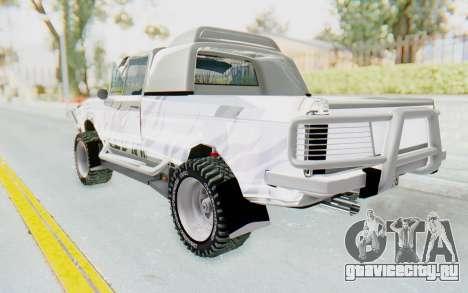 Ikco Super Peykan Pickup для GTA San Andreas вид слева