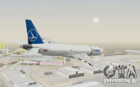 Boeing 777-200 TAROM Romania для GTA San Andreas вид слева