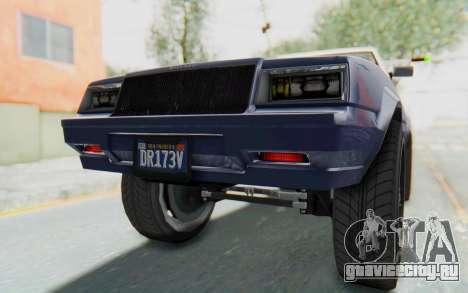 GTA 5 Willard Faction Custom Donk v3 IVF для GTA San Andreas салон