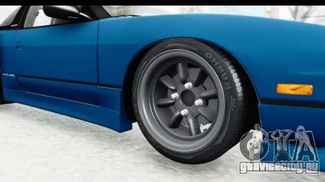 Nissan 240SX 1989 v2 для GTA San Andreas вид сзади