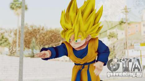 Dragon Ball Xenoverse Goten SSJ для GTA San Andreas