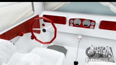 Unique V16 Fordor для GTA San Andreas вид изнутри