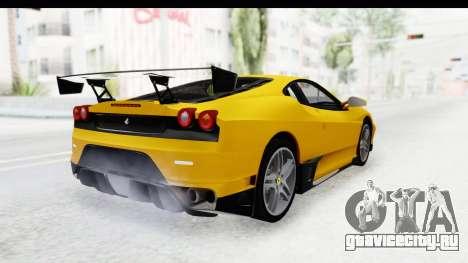 Ferrari F430 SVR для GTA San Andreas вид слева