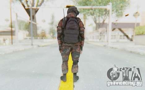 COD MW2 Russian Paratrooper v1 для GTA San Andreas третий скриншот