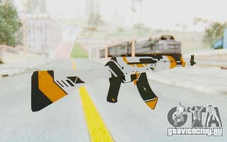 CS:GO - AK-47 Asiimov для GTA San Andreas второй скриншот