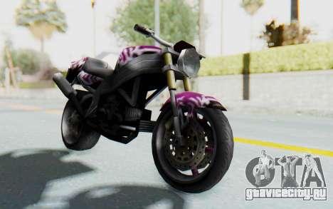 FCR-900 Custom v2 для GTA San Andreas вид справа