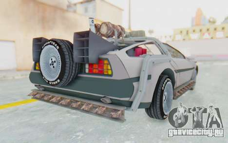 DeLorean DMC-12 2012 End Of The World для GTA San Andreas вид справа