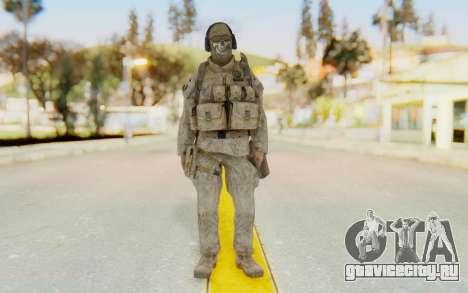 CoD MW2 Ghost Model v2 для GTA San Andreas второй скриншот
