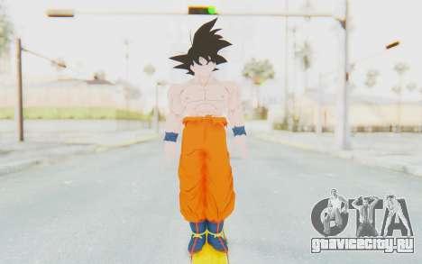 Dragon Ball Xenoverse Goku Shirtless SJ для GTA San Andreas второй скриншот