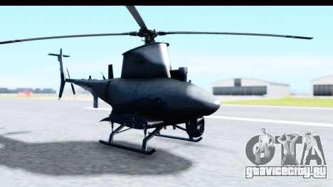 Northrop Grumman MQ-8B Fire Scout для GTA San Andreas вид сзади слева