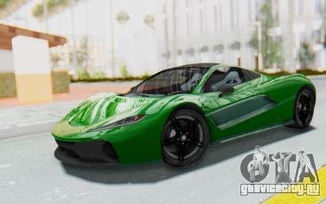 GTA 5 Progen T20 Devil PJ для GTA San Andreas
