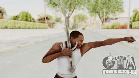 The Witcher 3: Wild Hunt - Sword v2 для GTA San Andreas третий скриншот