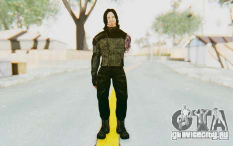 Bucky Barnes (Winter Soldier) v2 для GTA San Andreas второй скриншот