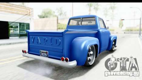 GTA 5 Vapid Slamvan without Hydro IVF для GTA San Andreas вид слева