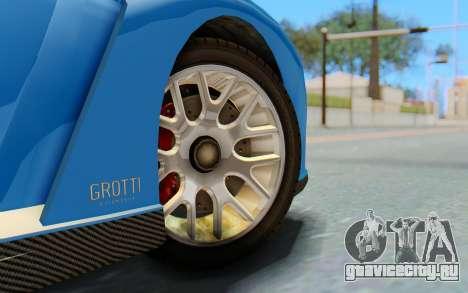 GTA 5 Grotti Cheetah SA Lights для GTA San Andreas вид справа